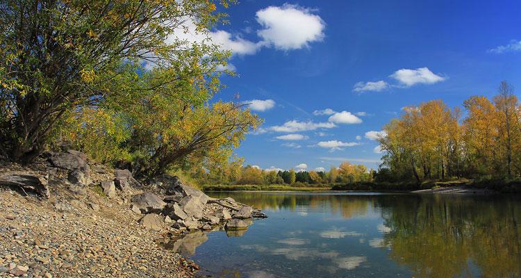 Река Туба, протока Дурная